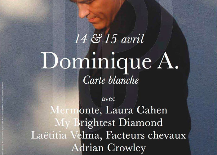 Carte Blanche Dominique A / Philharmonie